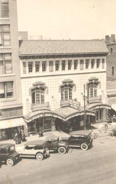 Wichita Theater (~1921) - Wichita Theater, located at 310 East Douglas.