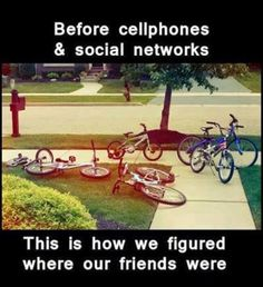 Before cell phones...