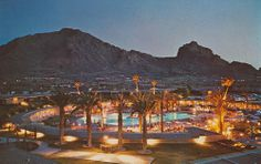 Mountain Shadows Hotel, Scottsdale, Arizona, site of the 1971 and 1975 NPC meetings.