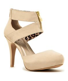 Beige Solita Pump