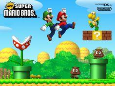 mario brother | New Super Mario Bros. ::: Retour à la liste des wallpapers ::: Voir ...