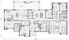 Floor Plan Friday: 5 bedroom acreage style home with triple garage grundriss, Floor Plan Friday: 5 bedroom acreage style home with triple garage 5 Bedroom House Plans, Dream House Plans, House Floor Plans, Home Decor Bedroom, Master Bedroom, House Plans Australia, Melbourne House, Story House, Home Design Plans