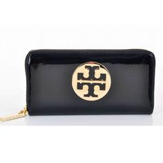 Continental Wallet Black,ballerina tory burch - $113.90