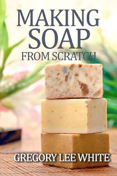 Making Soap From Scratch: How to Make Handmade Soap - A Beginners Guide and Beyond by Gregory Lee White,http://www.amazon.com/dp/0615695345/ref=cm_sw_r_pi_dp_TSnhsb0TSNAWQ6FT