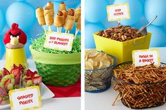 FREE Angry Birds printables from Birthday Express. #freeprintables #angrybirds #birthdayexpress