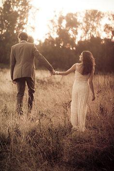 cute couple, love this photo idea