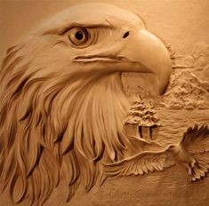 relief eagle carving - Google Search