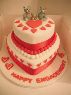 valentine diamond cake