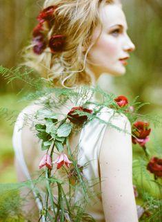 ❀ Flower Maiden Fantasy ❀ women & flowers in art fashion photography - rose maid