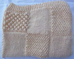 Hand Knitted Baby Blanket £30.00