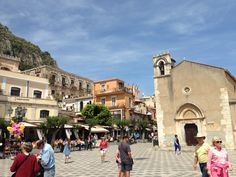 Messina, Sicily cruise excursion on your own to Taormina