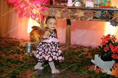 Festa rosa com marrom - http://www.anagiovanna.com.br/blog/festa-infantil/festa-rosa-com-marrom/