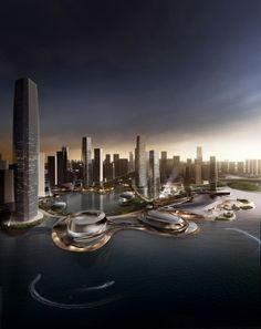 China-Taiwan Master Plan for CBD (3)