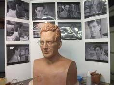 Dr. Egon Spengler bust (work in progress)