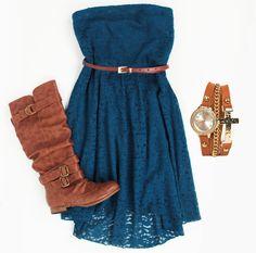 Deb Shops lace dress