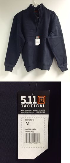 Shirts 175630: 5.11 Tactical Job Shirt Fire Fighter Ems Size Medium New In Bag -> BUY IT NOW ONLY: $40 on eBay!