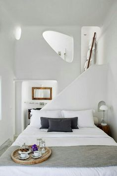 My ideal home is your daily source of interior design, architecture, home ideas and interior inspirations. Dream Bedroom, Home Bedroom, Bedroom Decor, Master Bedroom, Bedroom Ideas, Bedroom Interiors, Pretty Bedroom, Extra Bedroom, White Interiors