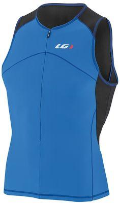 XX-Large Sleeveless Triathlon Top Rough Louis Garneau Mens Pro Carbon Quick Dry