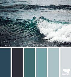 color sea image via: The Effective Pictures We Offer You About wedding color palette fuschi Fall Color Palette, Colour Pallete, Colour Schemes, Color Combos, Color Palettes, Color Tones, Design Seeds, Color Concept, Decoration Palette