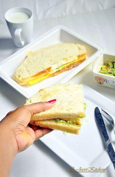 Guacamole & Egg Sandwich