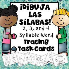 Dibuja Las Sílabas:
