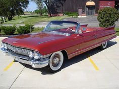 1961 Cadillac Series 62 We should all own a drop top Caddy at some point in our lives.