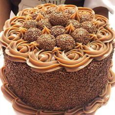 Beautiful Birthday Cakes, Taste Made, Fashion Cakes, Sweet Cakes, Chocolate Desserts, Bolo Chocolate, Birthday Cake Toppers, Cupcakes, Yummy Cakes