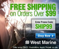 West Marine is the world's best resource in boating supplies. Since 1968, West Marine has focused on providing its customers with a positive shopping experience and great value. West Marine offers more than 50,000 high-quality products