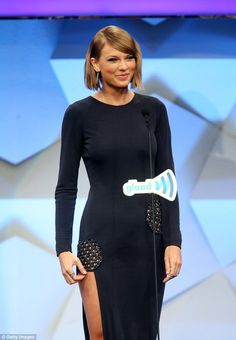 Surprise!Ruby - and the rest of the the award attendees were blown away - when Taylor Swi...