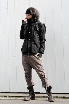 マウンテンパーカーでカジュアルと、2パターン。の画像   K's CLOTHING 南堀江 blog