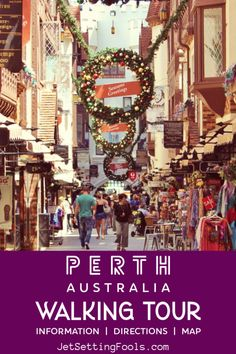 Perth Walking Tour: 15 Places to Visit in Perth, Australia - Jetsetting Fools Perth Western Australia, Australia Day, Australia Travel, Melbourne Australia, Croatia Travel, Thailand Travel, Bangkok Thailand, Italy Travel, Best Beaches To Visit