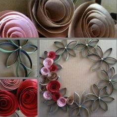 Toilet Paper Roll Flowers All The Best Ideas