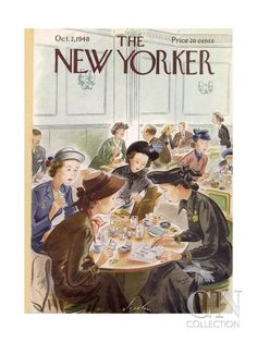 The New Yorker Cover - October 2, 1948 Poster Print by Constantin Alajalov at the Condé Nast Collection
