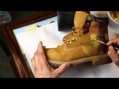 "De la David- Custom Painted ""IRON MAN"" Timberland Boots (Time Lapse Video) - YouTube"