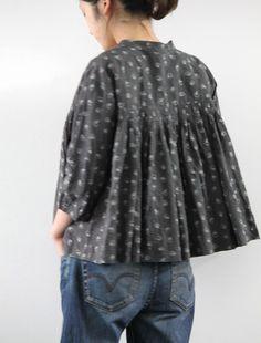 [Envelope Online Shop]Blouse mesange Using Lisette pattern?