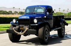 '46 Dodge Power Wagon - Best truck ever made. The Mil Spec Dodges
