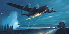 Dambusters – Courage and Sacrifice Air Force Bomber, Air Force Aircraft, Ww2 Aircraft, Westland Whirlwind, Lancaster Bomber, Contemporary History, Heritage Museum, Classic Artwork, Nose Art