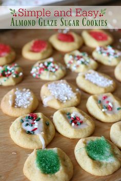 Easy Cheater Sugar Cookies