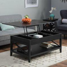 350 Belham Living Hampton Lift Top Coffee Table Black Coffee Tables At Hayneedle
