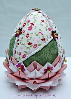 Пэчворк яиц без иглы