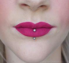 Sleek Matte Me Lipsticks in Fandango Purple #vegan