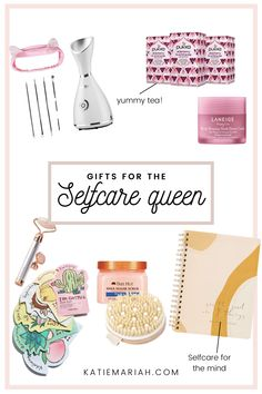 These Self-care gifts are perfect for any person in your life who could use some TLC, or just loves all things wellness! Great Gifts For Mom, Unique Gifts For Her, Holiday Gift Guide, Holiday Gifts, Spa Night, Self Care, Just Love, Best Gifts, Wellness