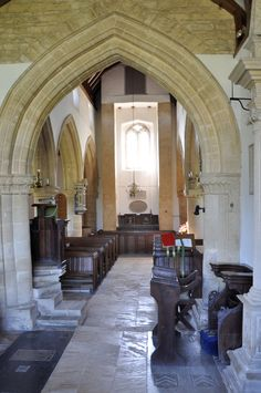 https://flic.kr/p/cHxwvu | Swinbrook-117 Chancel arch two orders of roll-moulding c1200 http://www.bwthornton.co.uk/visiting-stratford-upon-avon.php