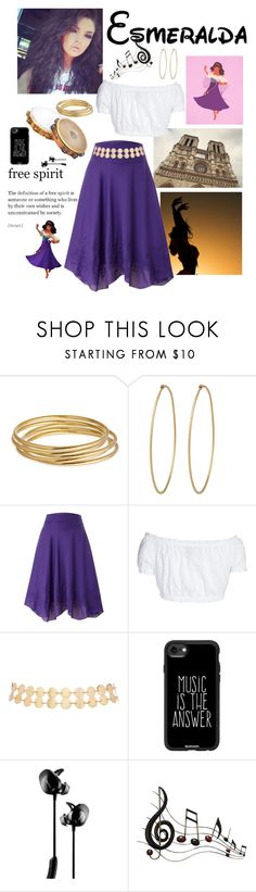 """Modern: Esmeralda"" by americanreject ❤ liked on Polyvore featuring Disney, Astley Clarke, Social Anarchy, Lauren Ralph Lauren, GERMAN PRINCESS, 2b bebe, Casetify, Bose, Music Notes and modern"