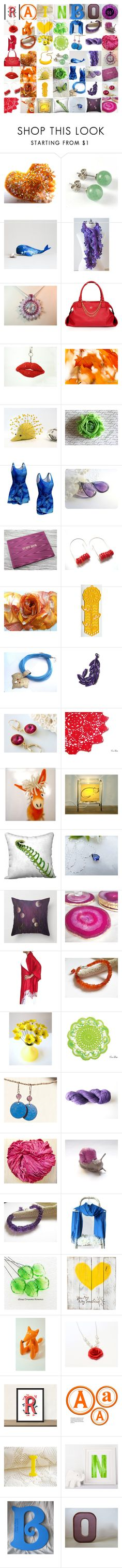 """""""rainbow gifts"""" by andreadawn1 ❤ liked on Polyvore featuring Umbra and Reception"""
