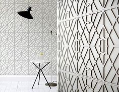 Genevieve Bennett's bespoke sculpted leather is created using cutting edge techniques, innovative pattern making, beautiful materials and excellent craftsmanship. Top quality leather is embossed, engraved, inlaid, printed and sculpted and can be used to make decorative wall panels, flooring, upholstery or furniture.