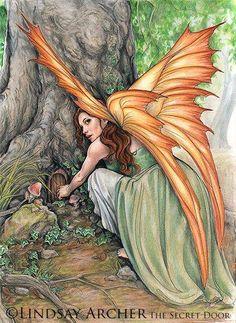 Elfes , Fées et fantaisie. # 4522