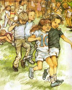 Book Illustrations, Children's Book Illustration, Shirley Hughes, Annie Rose, Children Sketch, Book Corners, Vintage Artwork, Drawing For Kids, Children's Books