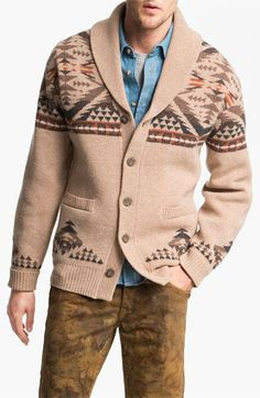 Pendleton Shawl Collar Cardigan available at #Nordstrom