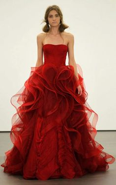 colored wedding dress #3